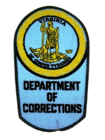 Нашивка DEPARTMENT OF CORRECTIONS