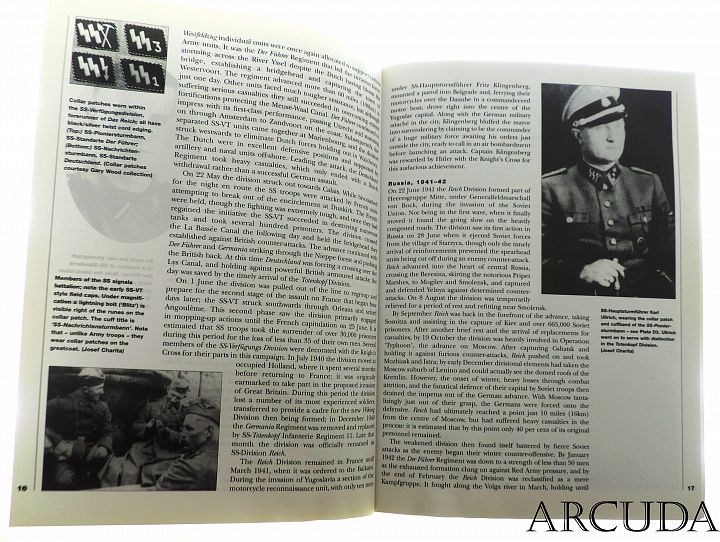 Книга «The Waffen-SS (1)» 1. to 5. Divisions