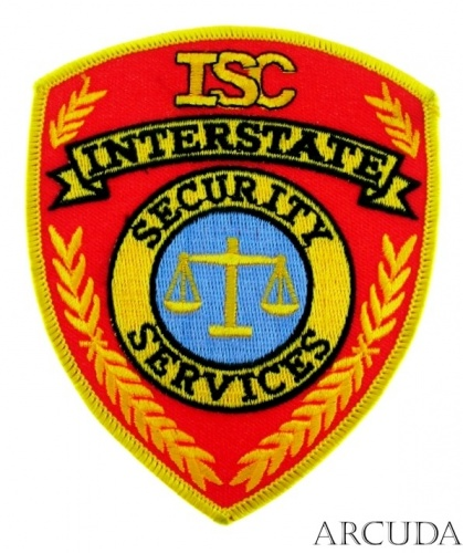 Нашивка SECURITY SERVICES