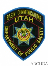 Нашивка BASIN COMMUNICATIONS «UTAH» США